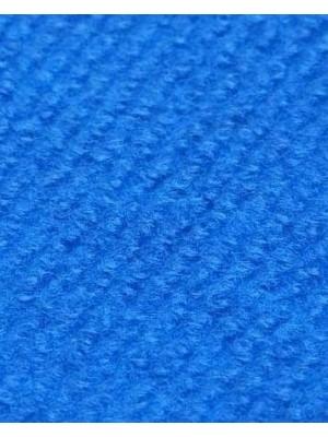 Profi Rips Teppichboden für Messe und Events blau mit Latex-Rücken