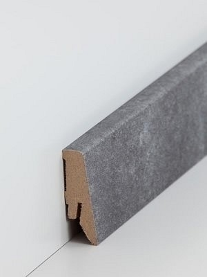 Südbrock Sockelleiste Basalt Fußleiste, MDF-Kern mit Dekorfolie ummantelt
