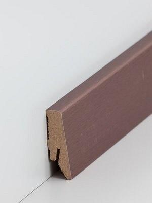 Südbrock Sockelleiste Kupfer Fußleiste, MDF-Kern mit Dekorfolie ummantelt
