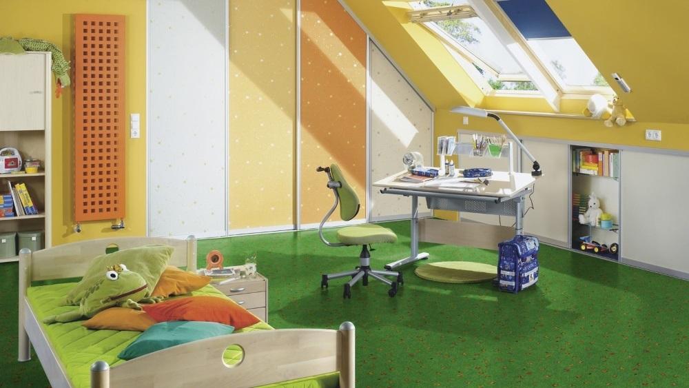 Bodenbelag Kinderzimmer Bioboden Wineo Purline Artist Happy Jungle