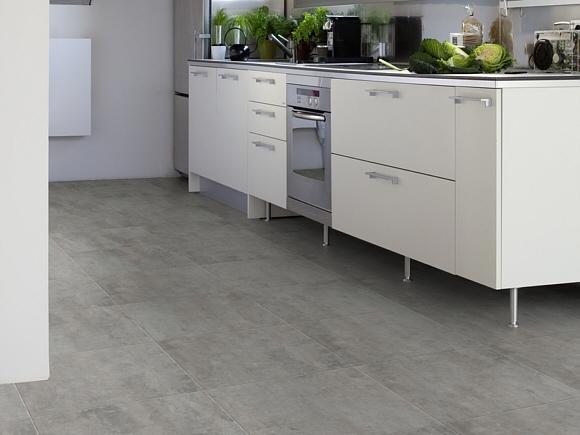 Gerflor Artline Vinyl-Designbelag ist der Ideale Bodenbelag für Bad und Küche