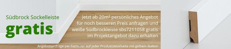 Jetzt persöliches Bodenbelag - Angebot anfragen und Sockelleiste ab 500 EUR gratis erhalten