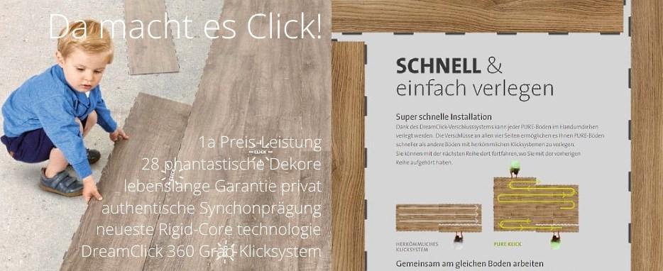 berryAlloc pure Click Designboden Vorteile