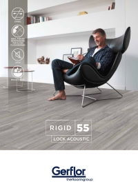 Gerflor Rigid 55 Lock Acoustic Designboden mit integrierter Dämmunterlage - Katalog Download